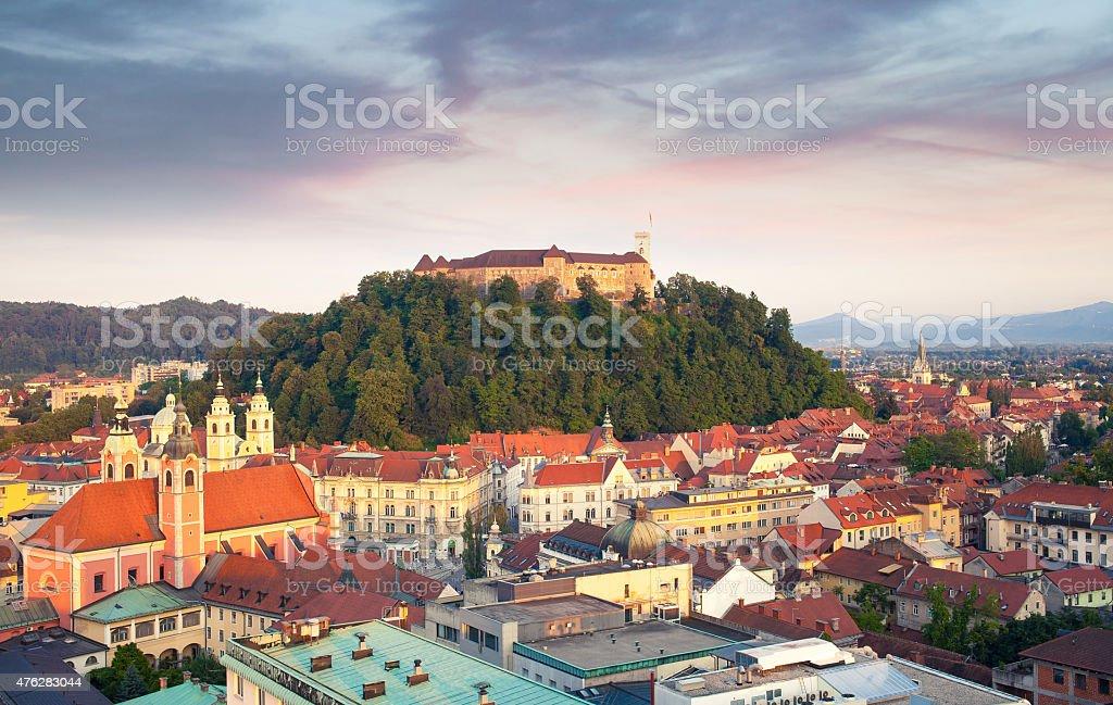 Ljubljana (Slowenien Stadt – Foto