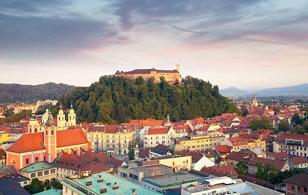 Ljubljana City, Slovenia Ljubljana City, Slovenia ljubljana stock pictures, royalty-free photos & images