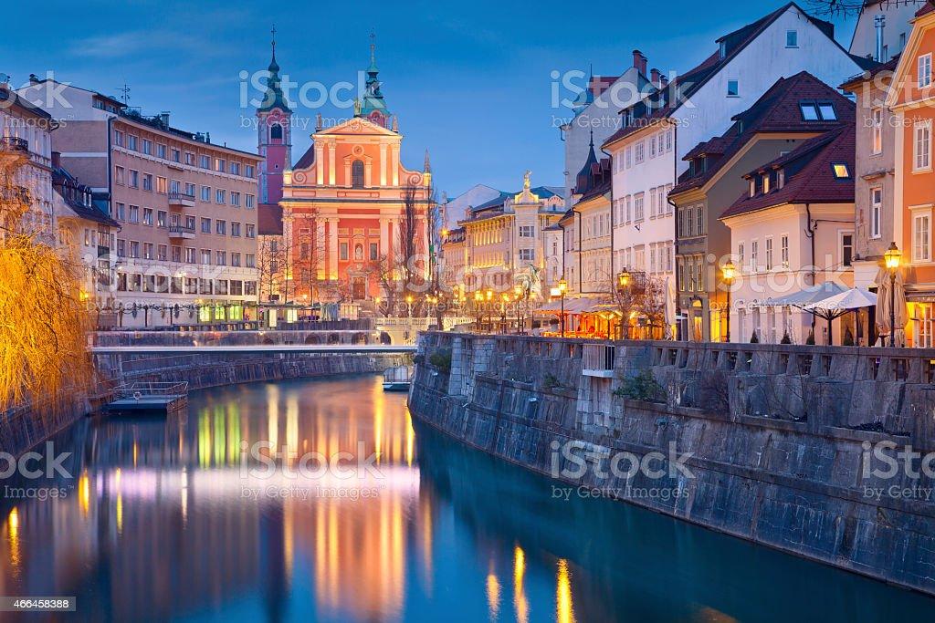 Ljubljana. stock photo