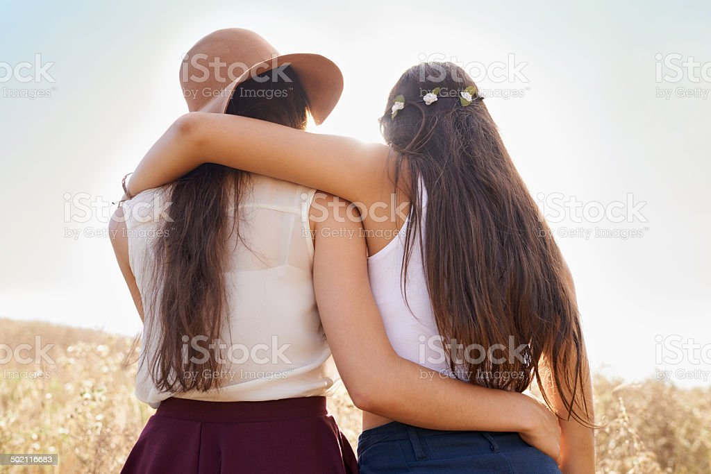 I'll always be by your side! stock photo