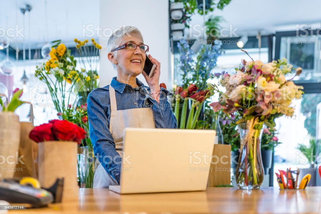 I'll be happy to take your order stock photo
