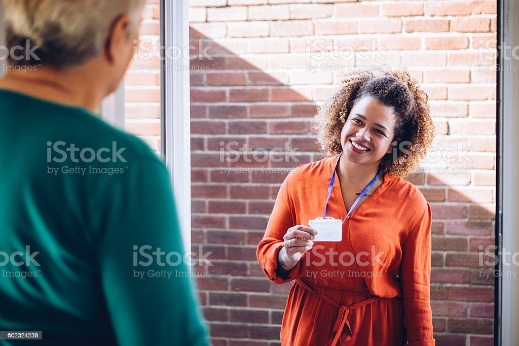 I'll be helping you today! stock photo