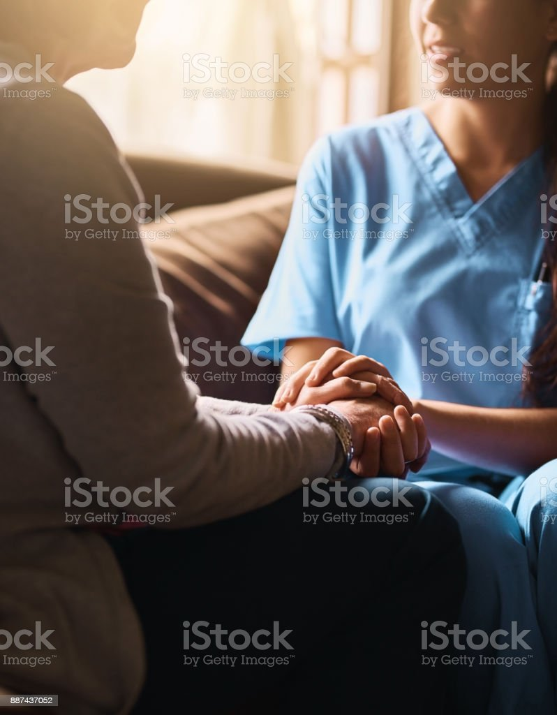 I'll be the support you need stock photo