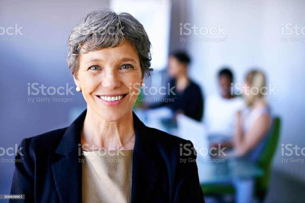 I'll bring years of experience to my team stock photo