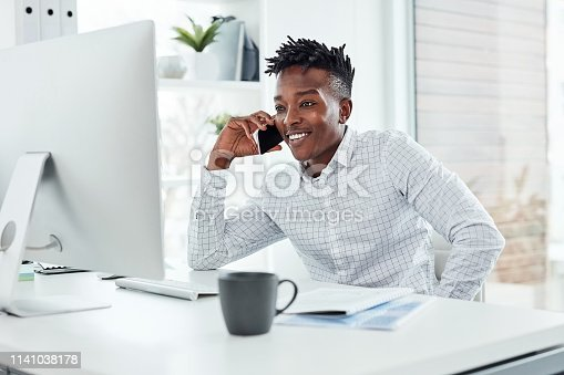 936117940 istock photo I'll get to work on that right now 1141038178