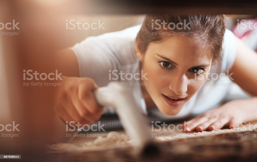 I'll get you! stock photo