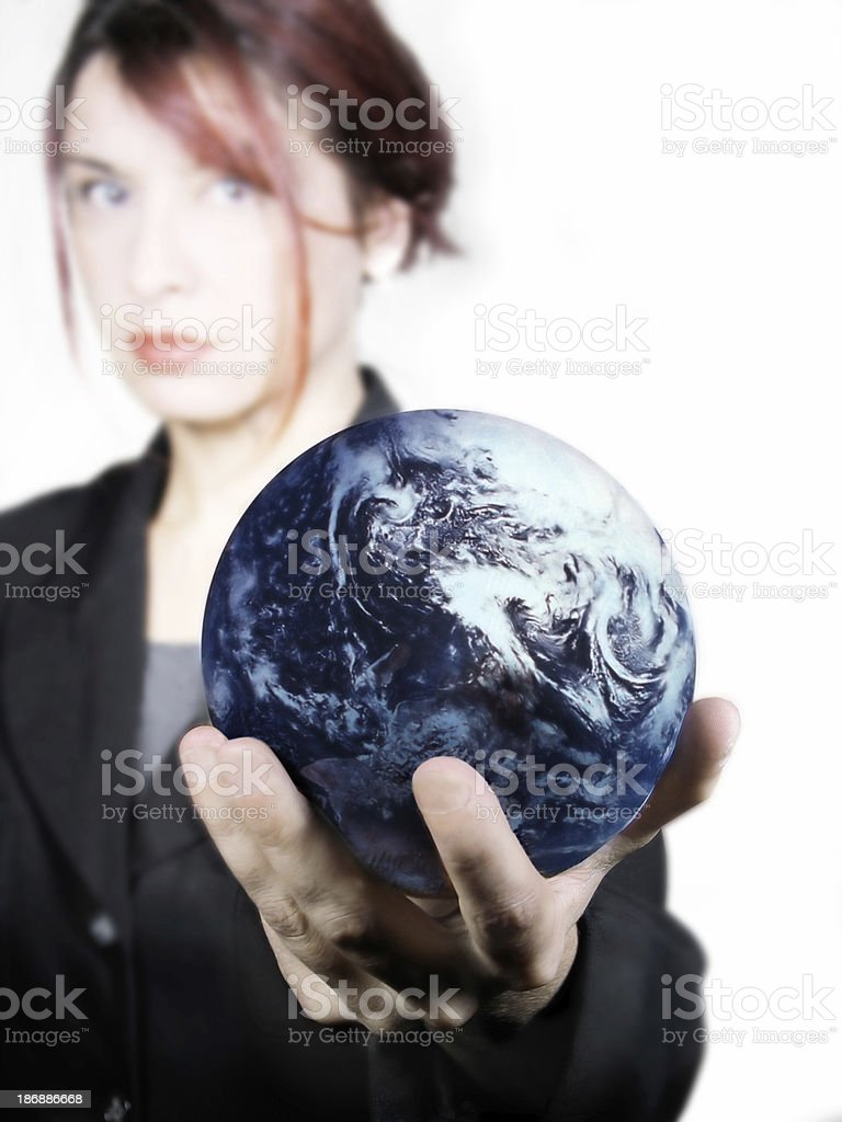 I'll give you the world royalty-free stock photo