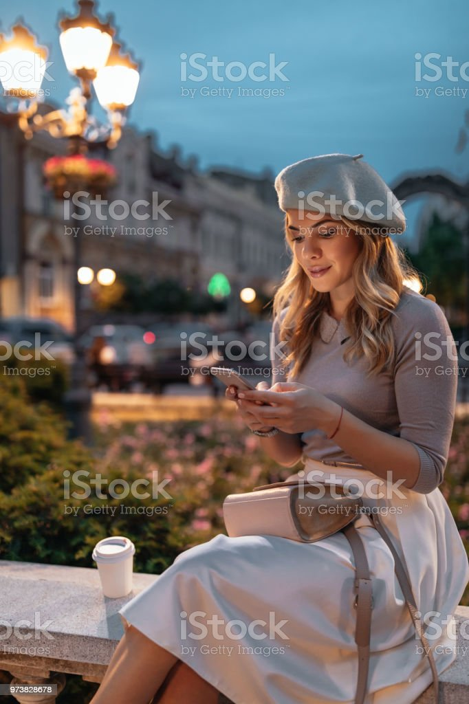 I'll have my friends out here in no time stock photo