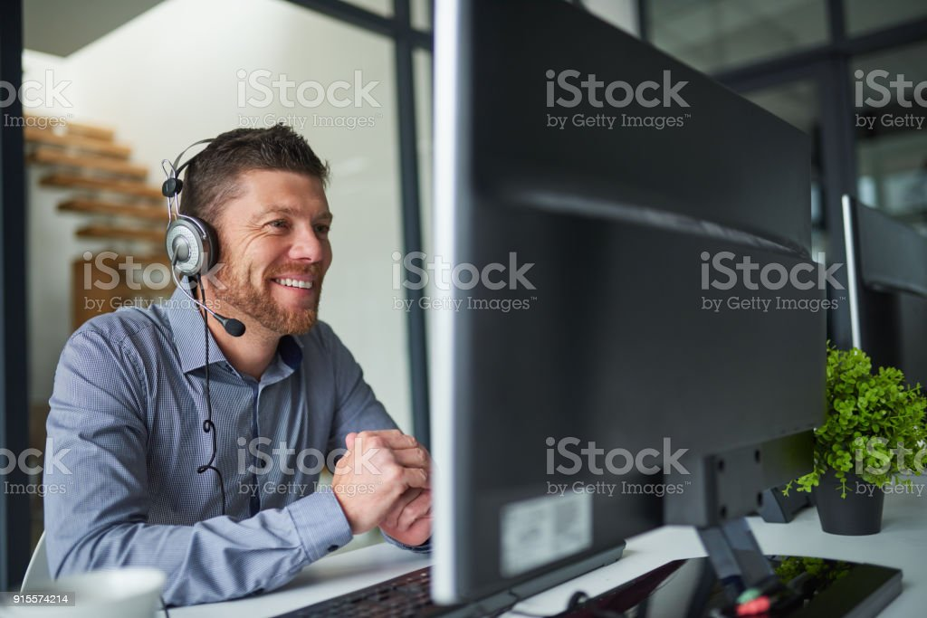 I'll help you sort the problem out stock photo