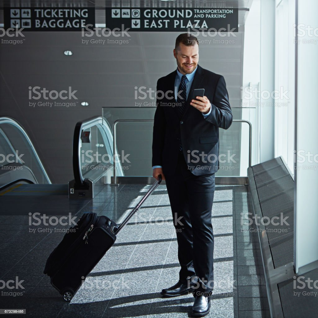 I'll let you know when I've landed royalty-free stock photo