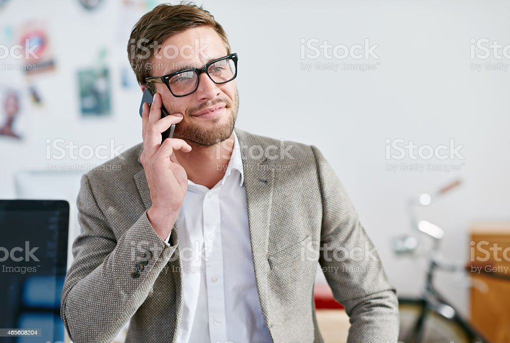 I'll let you make the call royalty-free stock photo