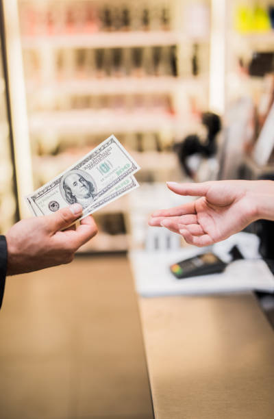 i'll pay cash - spending money stock photos and pictures