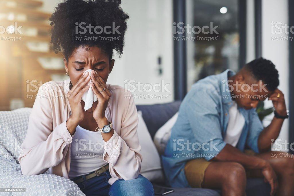 Ich werde alles außer die Grippe teilen – Foto