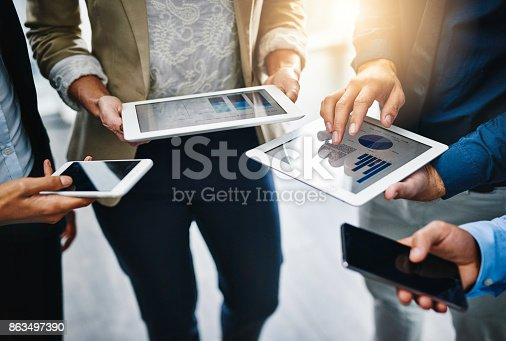 istock I'll share the information with you... 863497390