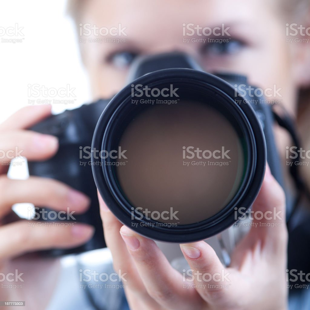 I'll shoot you! royalty-free stock photo