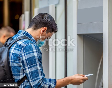 945598452 istock photo I'll take all the money off the card, maybe the banks fail 1227389218