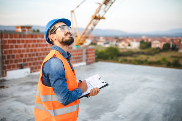 I'll turn your building dreams into reality stock photo