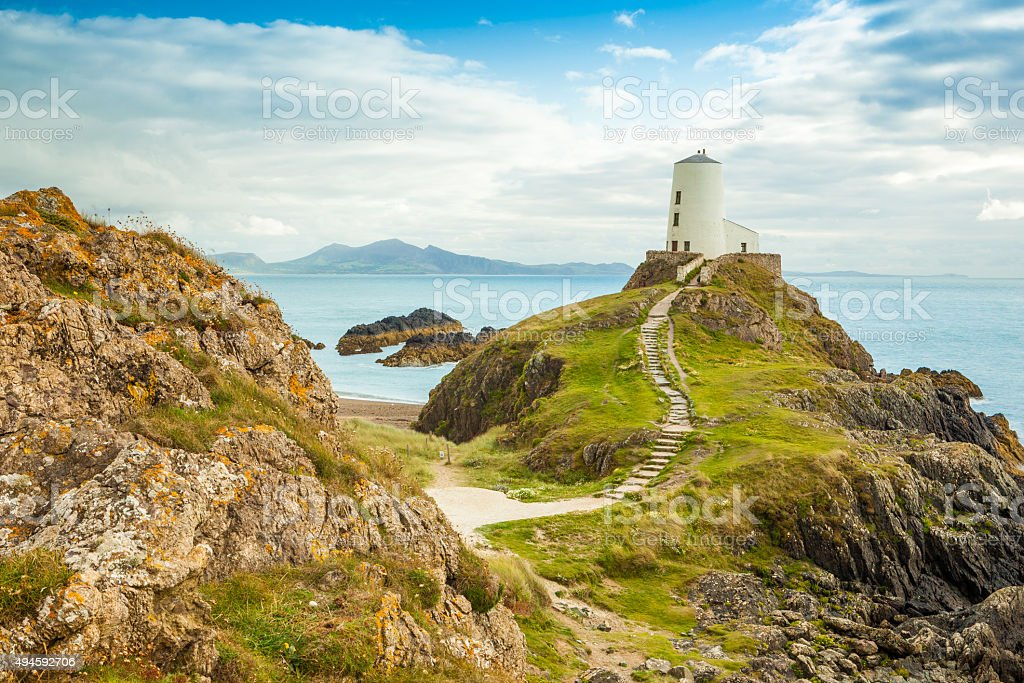 Llanddwyn Island - Anglesey stock photo