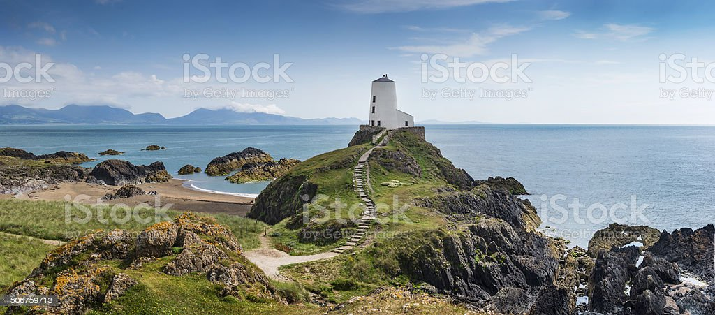 Llanddwyn Island stock photo