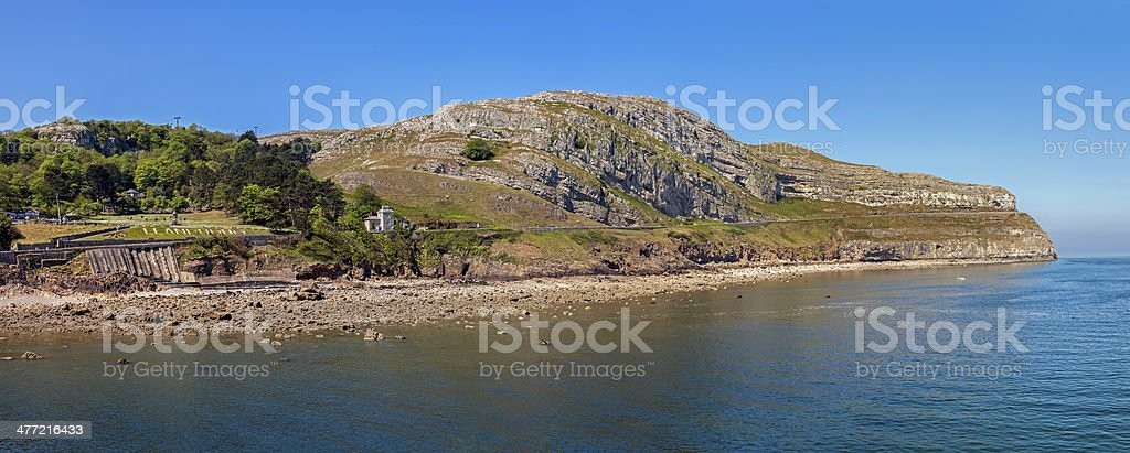 Llandudno, North Wales stock photo
