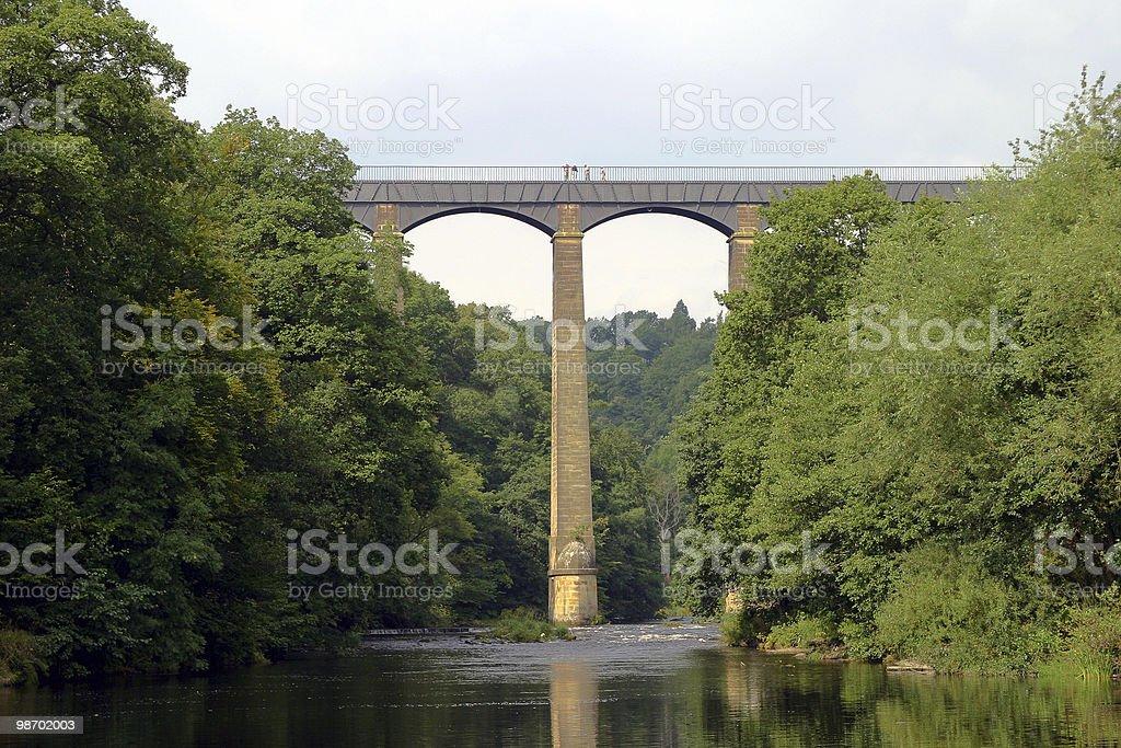 랭골렌 Aquaduct royalty-free 스톡 사진