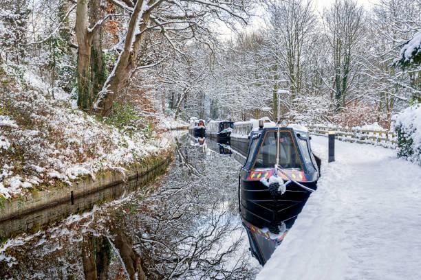 Llangollen Canal stock photo