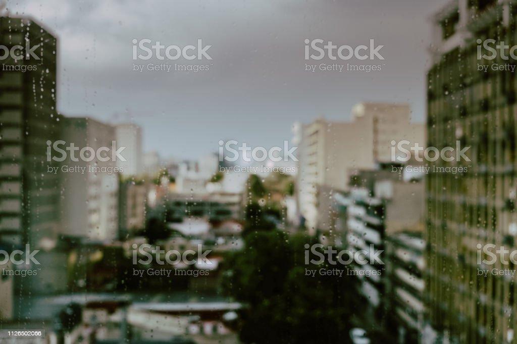 Lloviendo - foto de stock