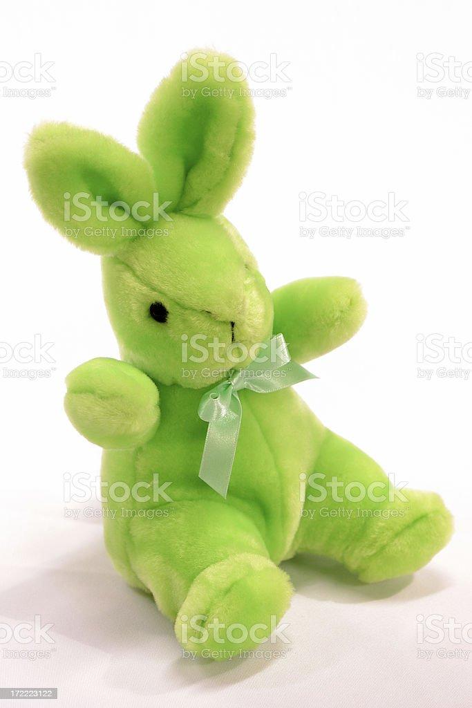 Lloyd the Demented Rabbit stock photo