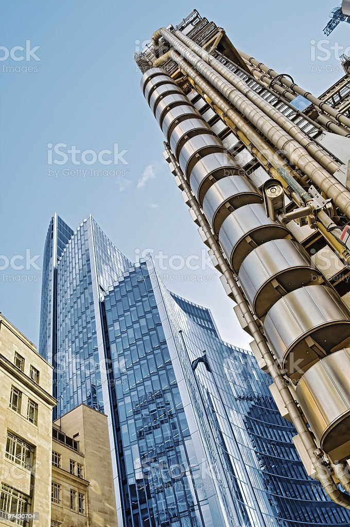 Lloyd's Building, London royalty-free stock photo