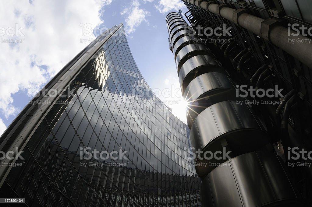 lloyds stunning london royalty-free stock photo
