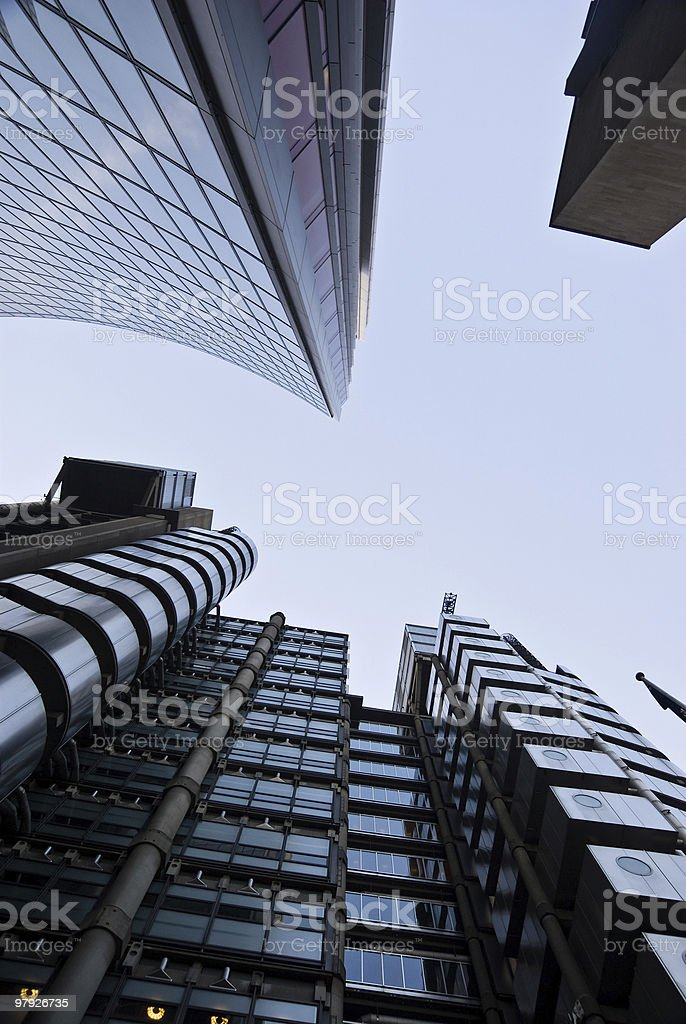 Lloyds towers royalty-free stock photo