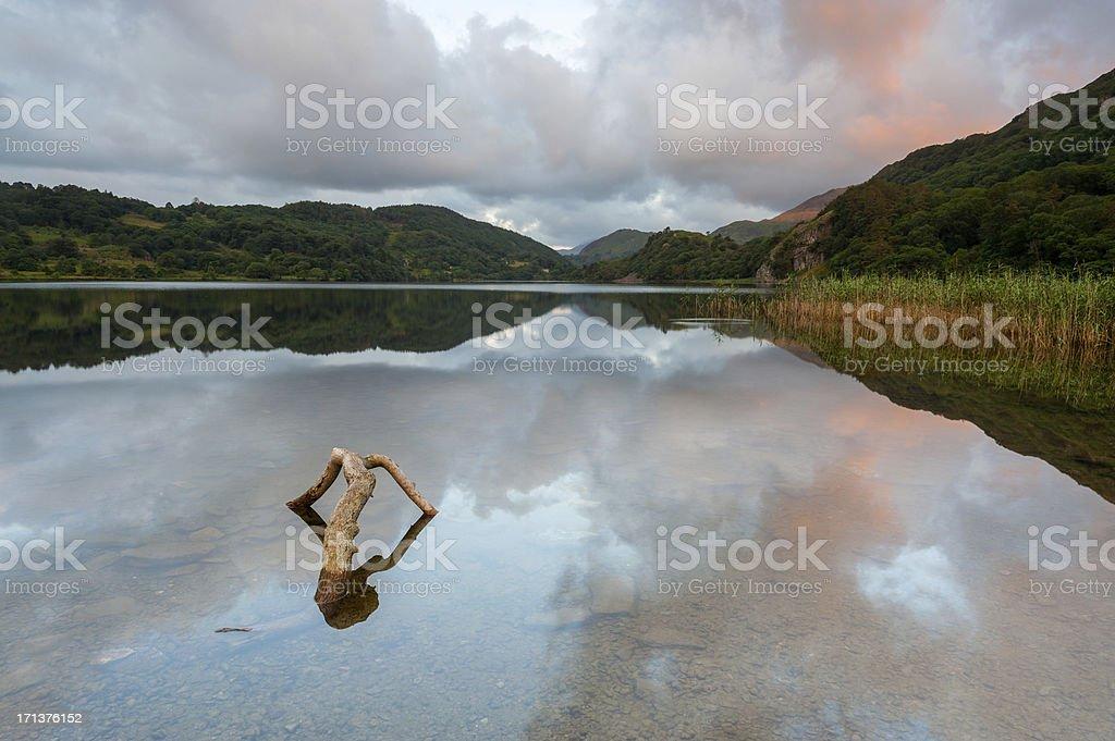 Llyn Gwynant, Snowdonia, Wales royalty-free stock photo