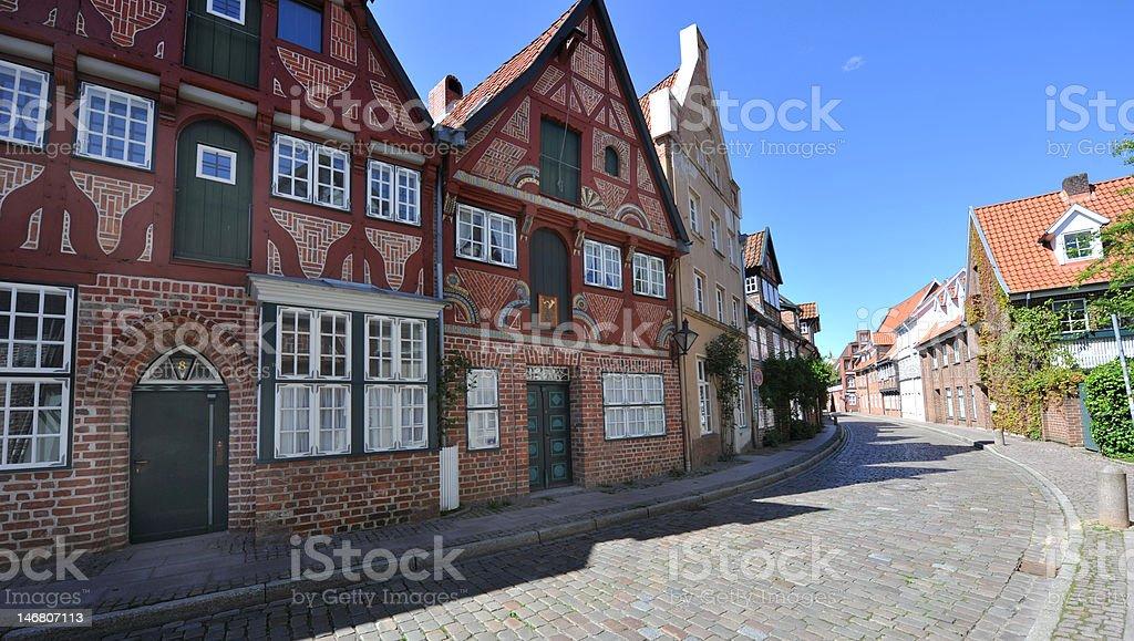 Lüneburg Altstadt Ancient Stock Photo