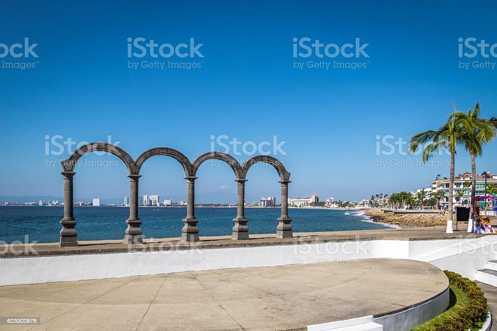 Lo Arcos - Puerto Vallarta, Jalisco, Mexico stock photo
