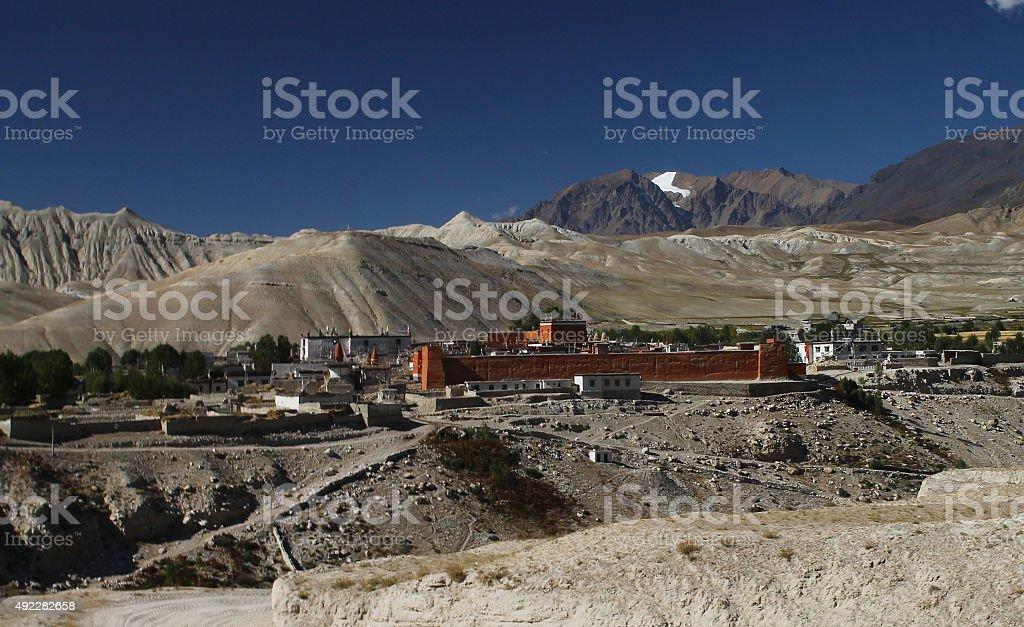 Lo Manthang, Nepal stock photo
