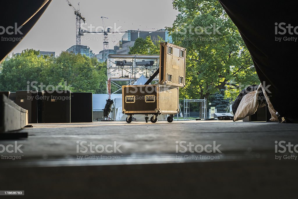 Load In stock photo