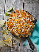 Loaded BBQ Pulled JACK FRUIT Nachos