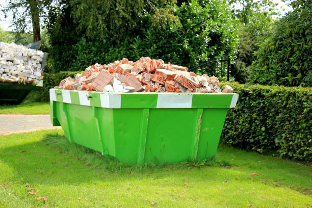 loaded garbage dumpster - garbage bin stock photos and pictures