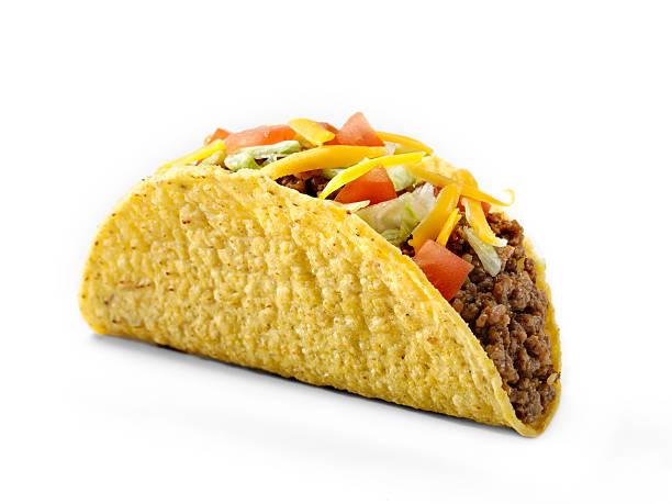 chargé dur taco - tacos photos et images de collection