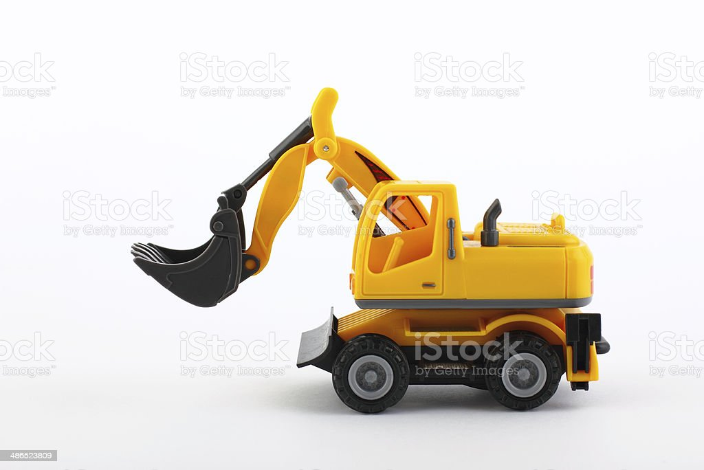 Loader isolated view stock photo