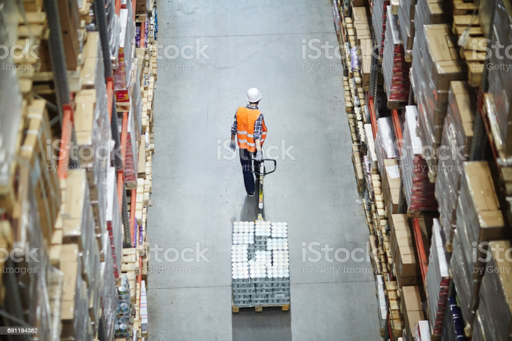 Loader working - foto stock