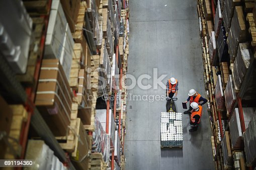 istock Loaders at work 691194360