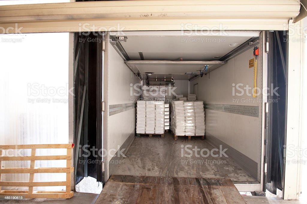 Chargement d'un camion - Photo