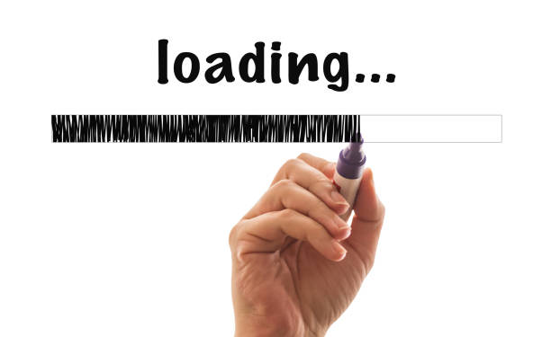Loading Bar stock photo