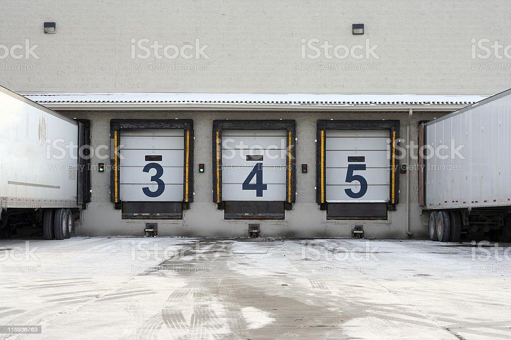 Loading Bay 1 stock photo