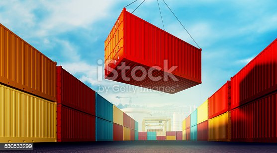 697974610 istock photo Loading container 530533299