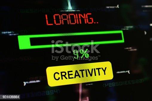 185257431 istock photo Loading creativity 924436664