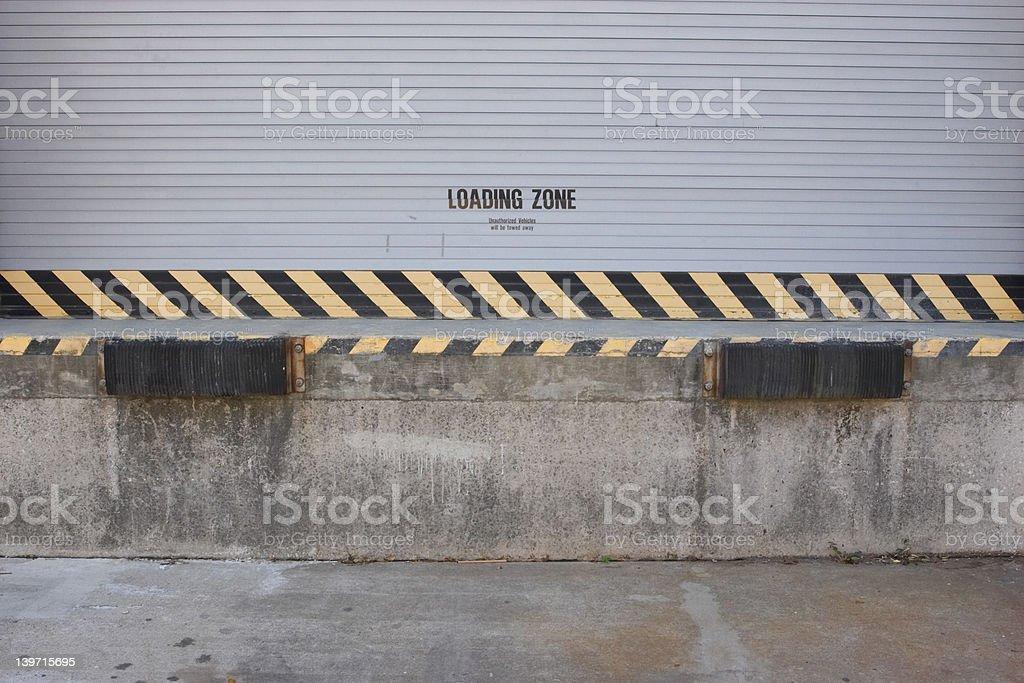 Loading Dock royalty-free stock photo