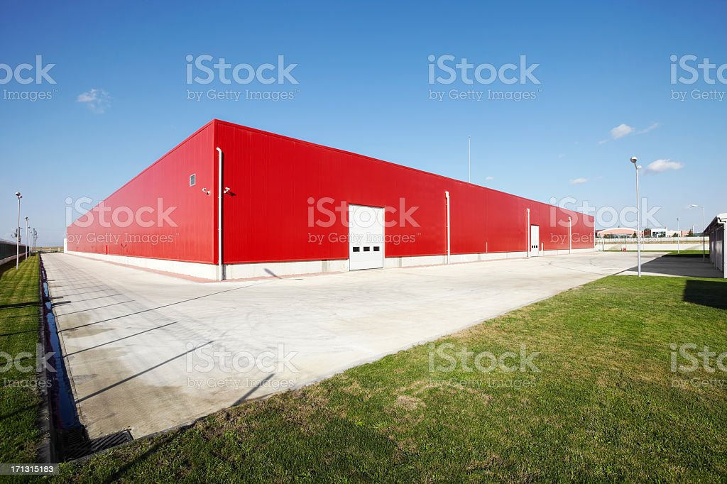 Loading dock stock photo