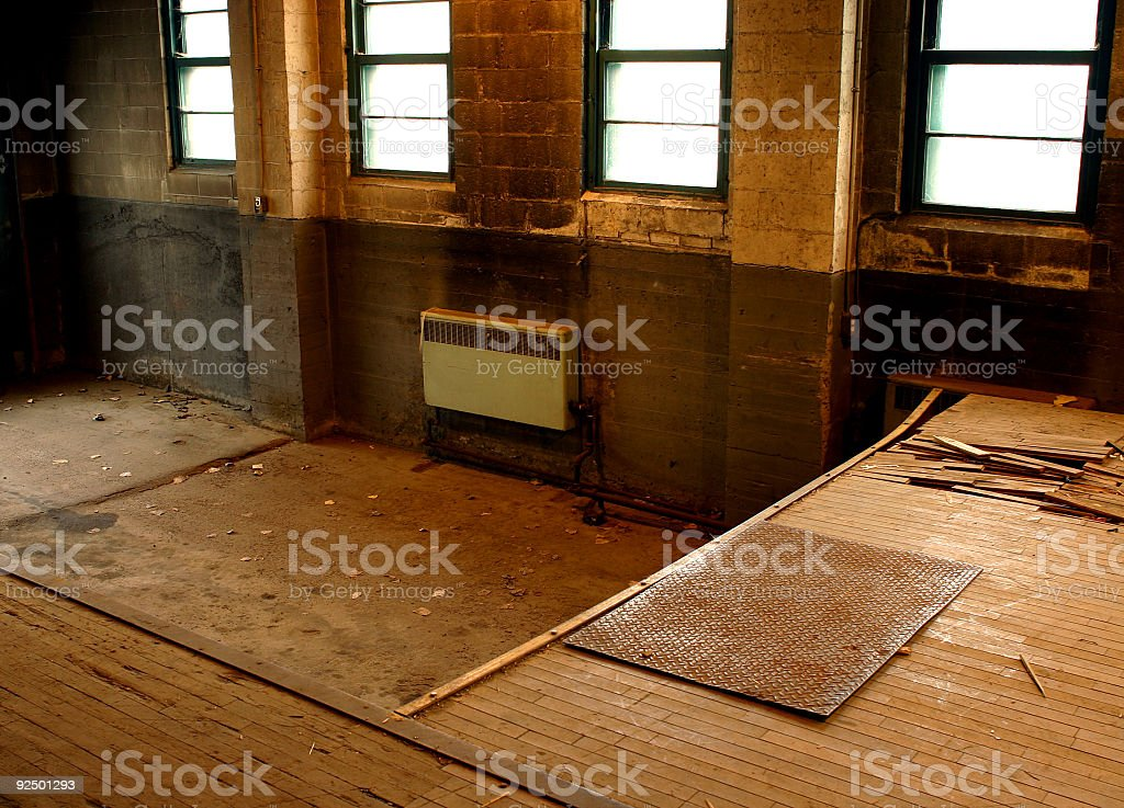 Loading Dock royalty-free stock photo